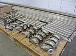 stainless steel jacketed tubing 22 mm - total 40 meters