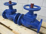 KSB BOA-H bellows-type shut-off valve DN 80 PN 16 - unused