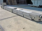 stainless steel belt conveyor 200 x 3660 (3040 net)