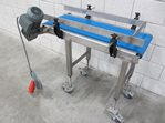 Belt conveyor 320 x 960 mm