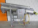 Screw conveyor with product lock - s/s