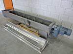 screw conveyor 300 x 2280 mm - s/s