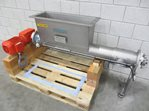 s/s screw conveyor 150 x 1100 with inlet hopper
