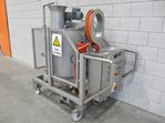 190 litre heated mixing tank with dosing pump