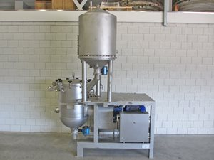 Mixing and Aeration machine with pre-cooker - for Candy