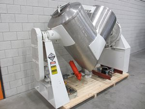 Twin Shell Dry blender solids/solids