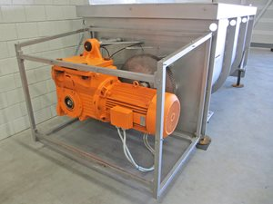 Twin Shaft Paddle Mixer S/S - 6000 Litre