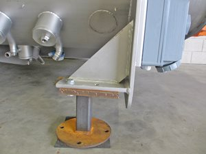 Twin Shaft Paddle Mixer - 6000 Litre - s/s - direct steam injection