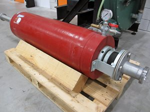 Bredel SP80 hose pump with PD100 pulsation damper