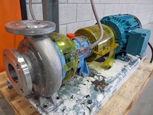 Durco Chemstar 80x65-160 chemical process pump