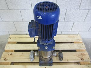 DP multistage centrifugal pump (9 m3/h 5.2 bar 2.2 kW)