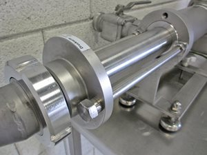 Dosing pump with control panel - stainless steel