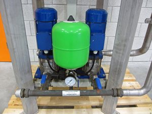 DP hydro unit booster system