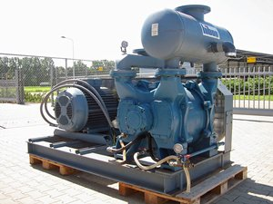Hibon Alpha 30 liquid-ring vacuum pump
