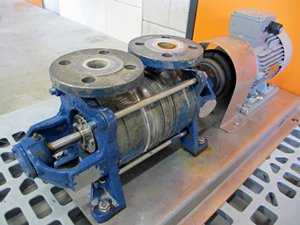 Side channel pump Sterling Sihi AKHE 3601 BN 135 42 4 - ATEX