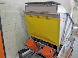Rollier ME 100 3 sieving machine - 3 fractions