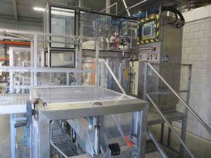 Astepo aseptic bag in box filling line