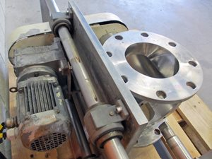 TBMA HARD 150 quick clean rotary valve of AISI 316