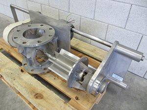 TBMA HAR 150 quick clean rotary valve of AISI 316