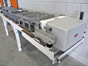 Vibrating conveyor 2650 x 320 - stainless steel