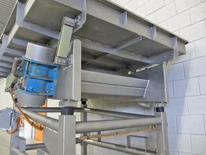 Transportation shaker 1640 x 2480 mm - s/s