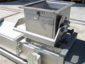 stainless steel belt conveyor 200 x 2450 (1830 net)