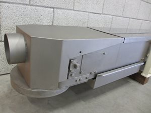 stainless steel belt conveyor 200 x 2700 (2070 net)