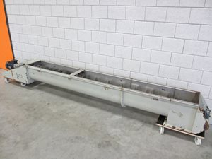 screw conveyor 300 x 2960 mm
