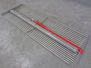 Screw conveyor (ribbon screw) 385 x 6000 mm