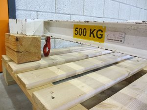 Big Bag Lifting Beam - 500 kg