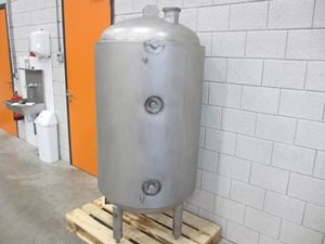 500 litre stainless steel jacketed tank - AISI 316