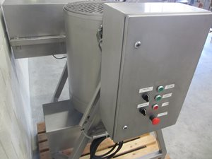 Terlet 100 litre mixing-/tipping tank