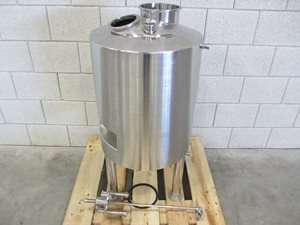 35 Litre jacketed mixing tank