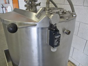 50 litre s/s mixing tank - jacketed - insulation - dissolver