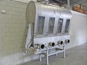 Schugi fluid bed dryer / cooler