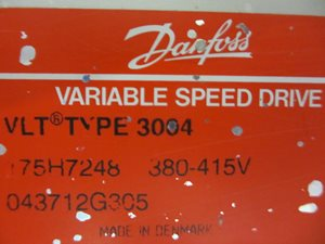 Danfoss VLT 3004 variable speed drive
