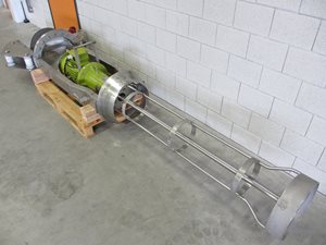 Agitator - 270 mm Ø - 1600 mm insert - s/s - 11 kW