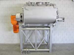 Twin Shaft Paddle Mixer - S/S - 600 Litre -  jacketed