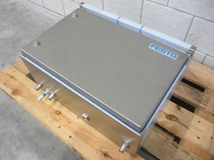 Rittal control panel enclosure with Festo pneumatic instrumentation
