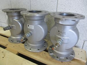 Pinch valve DN 100 - air operated
