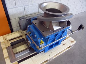 Waeschle ZKH 320 rotary valve for powders