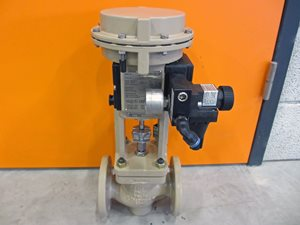 Samson control valve with positioner DN 32