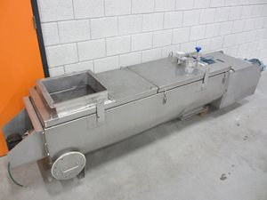 Insulated screw conveyor 1400 x 400 - Atex