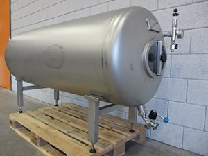 500 litre stainless steel pressure tank - 3 bar